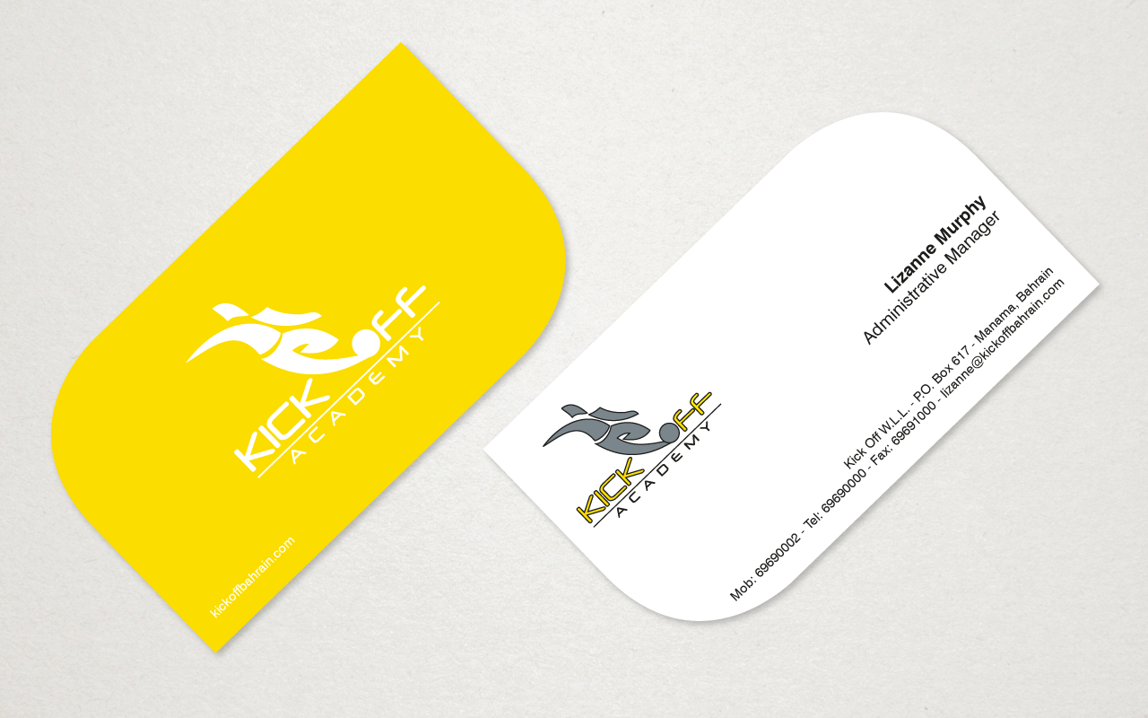 kick-off-academy-business cards2